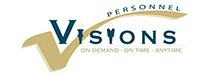 Visions Personnel Services Logo